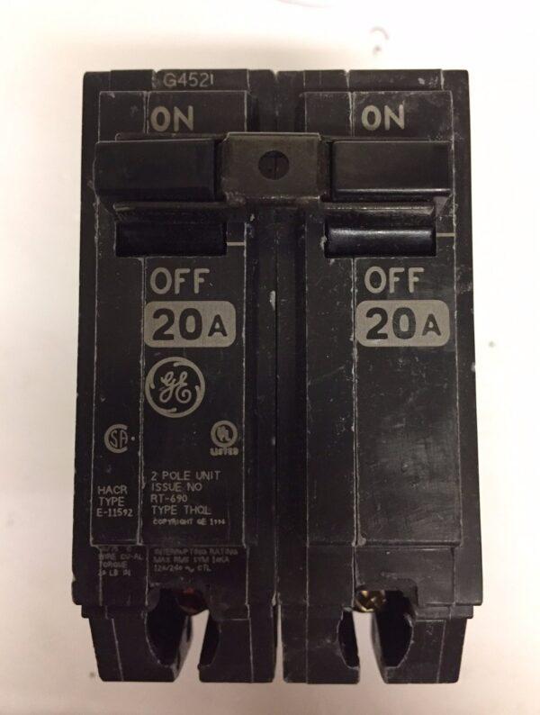 Pastilla Eléctrica General Electric THQL-2120